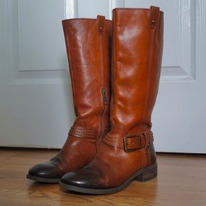 Jessica Simpson Essence Leather Riding Boots